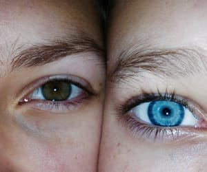 blue, tumblr, and 👭 image
