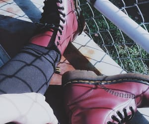 aesthetic, boots, and doc martens image