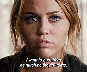 miley cyrus, hurt, and quotes image
