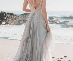 beach, chique, and dresses image