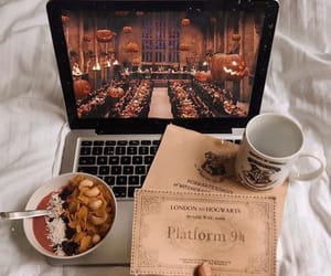 autumn, harry potter, and fall image