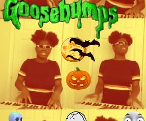 funny video, goosebumps, and Halloween image