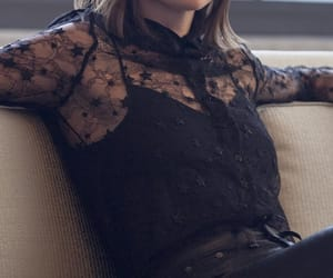 actress, clothes, and fashion image