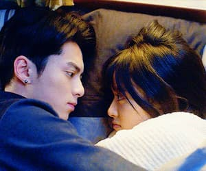 couple, meteor garden, and dylan wang image
