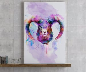 animal art, etsy, and home decor image