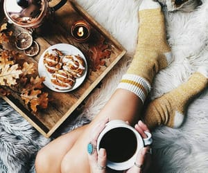 autumn, cozy, and drinks image