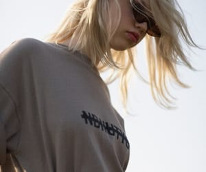 aesthetic, blond, and girl image