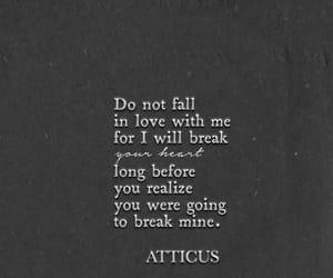 atticus, break, and fall image