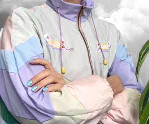 baby blue, baby pink, and clothes image