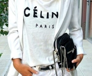 fashion, celine, and white image