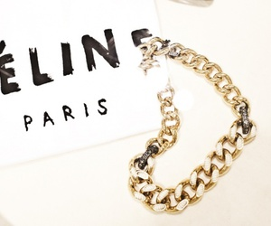 celine, jewelry, and style image