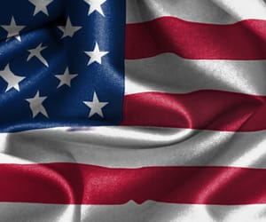 america, stripes, and american flag image