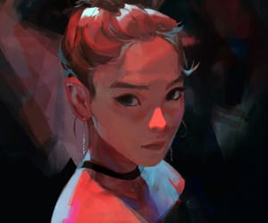kpop and fanart image