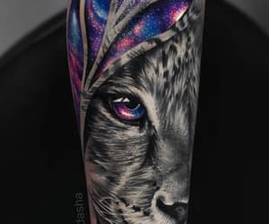 amazing, ink, and lion image