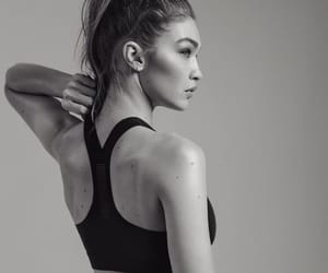gigi hadid, model, and reebok image