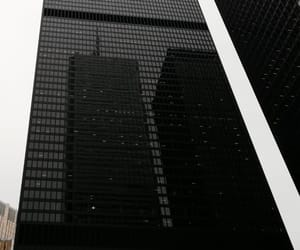 architecture, black, and building image
