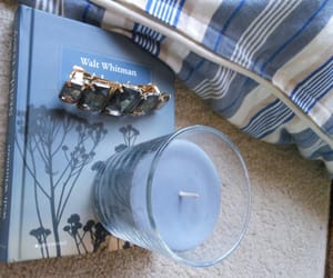 blue, book, and candle image