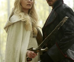 emma, killian jones, and once upon a time image
