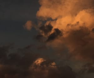 angels, clouds, and Darkness image
