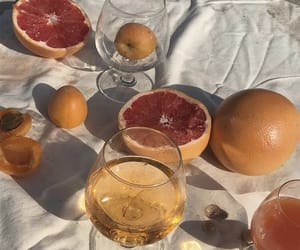 aesthetic, fruit, and grapefruit image