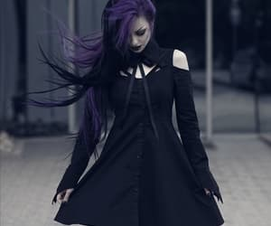 alternative, goth, and dark image