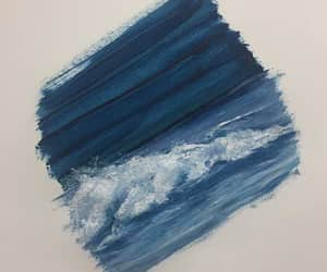 aesthetic, blue, and sea image