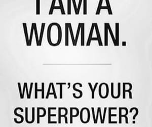 empowering, superpower, and feminism image