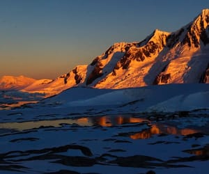 antarctica, mountains, and travel image