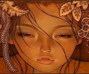 art, audrey kawasaki, and geisha image