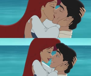 ariel, couple, and cute image