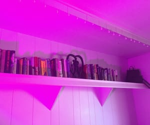 aesthetic, books, and purple image