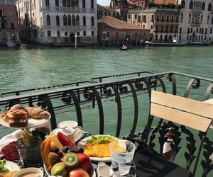 breakfast, venice, and food image