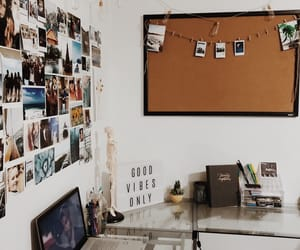 beautiful, bedroom, and cork board image
