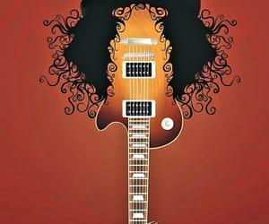 art, guitarist, and rock image