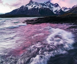 landscape, mountain, and pastels image