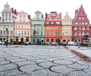 travel, building, and Poland image