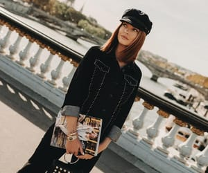 fashion, caroline receveur, and girl image