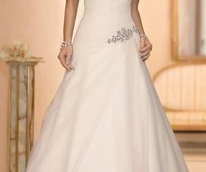 wedding, bianco, and eleganza image