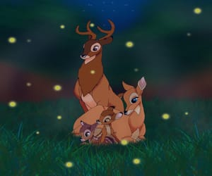 baby, bambi, and family image