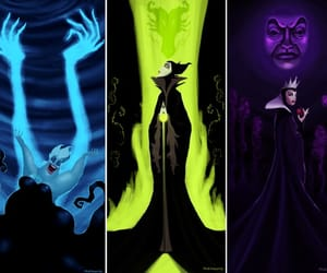 disney, villain, and ursula image