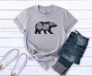 animals, bear, and camping image