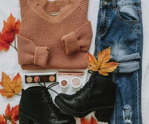 autumn, outfits, and clothes image