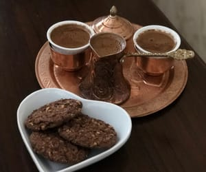 brown, coffee, and Cookies image