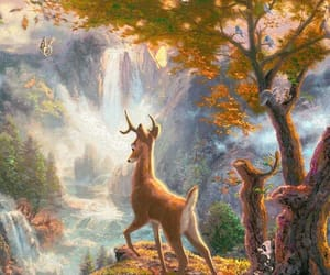 animals, bambi, and faon image
