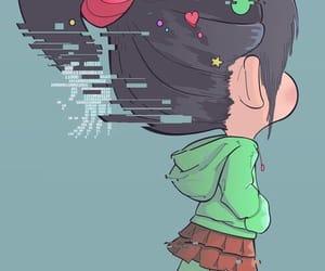 disney, vanellope, and little girl image