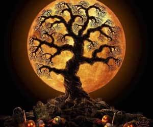 Halloween and moon image