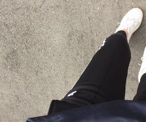 adidas, dark, and drink image