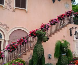 colors, disney, and flowers image