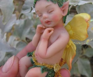 baby, boy, and Fairies image