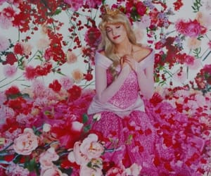 flower, pink, and princess image